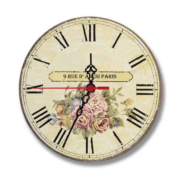 Zegar ścienny Rue Paris, 30 cm