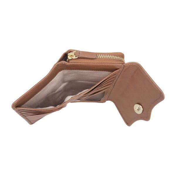 Skórzany portfel Alondra Chestnut