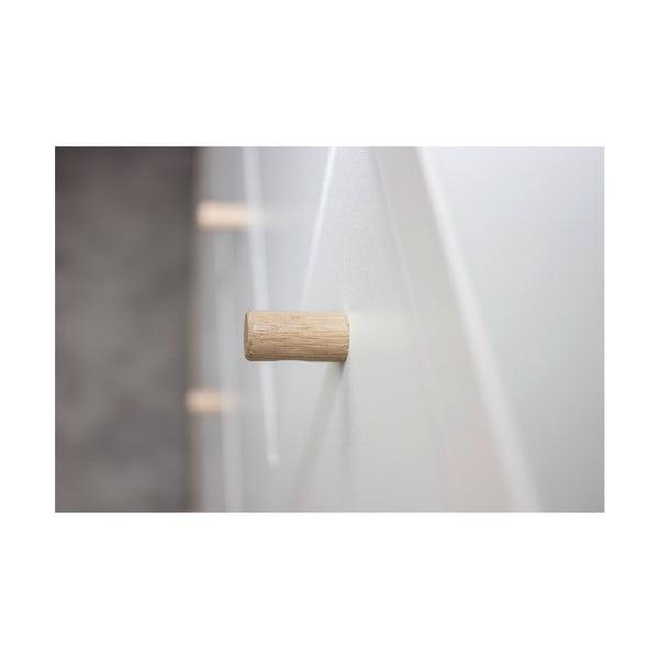 Biała komoda Germania Buffet, szer. 119 cm