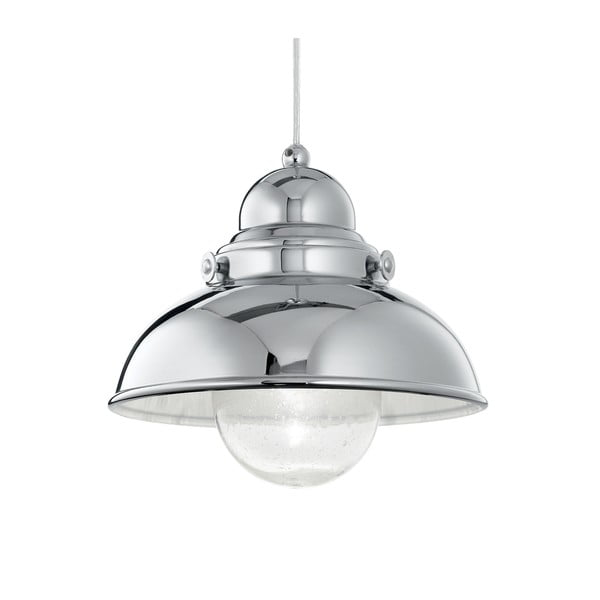 Lampa wisząca Evergreen LightsLoft Chrome, 29 cm