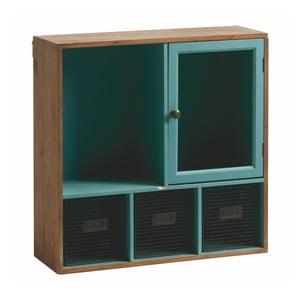 Półka ścienna Wallshelf, niebieska
