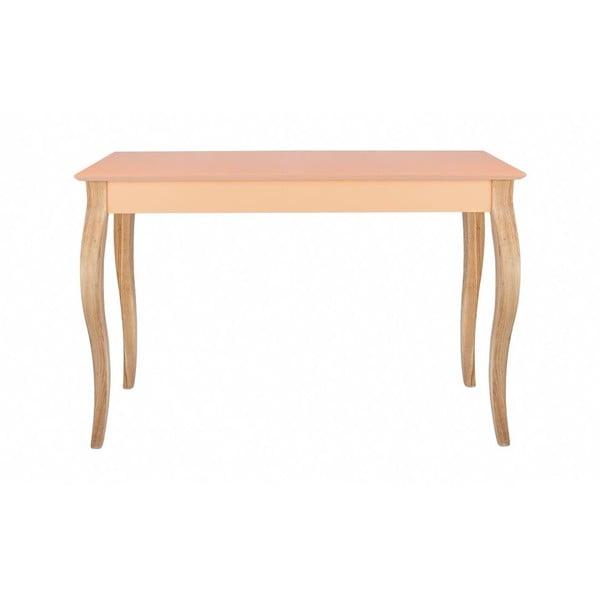 Konsolka  Dressing Table 150x74 cm, pomarańczowa