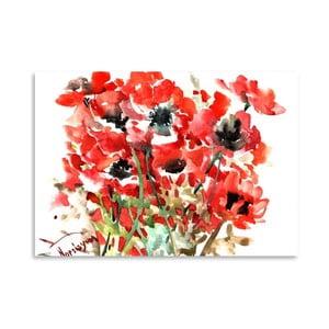 Plakat Anemones Red (projekt Suren Nersisyan)