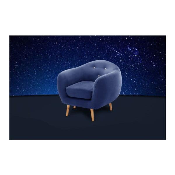Granatowy fotel Scandi by Stella Cadente Maison Constellation