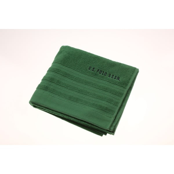 Ręcznik U.S. Polo Assn. Green, 50x90 cm