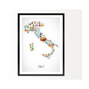 Oprawiony obraz Italy, 50x70 cm