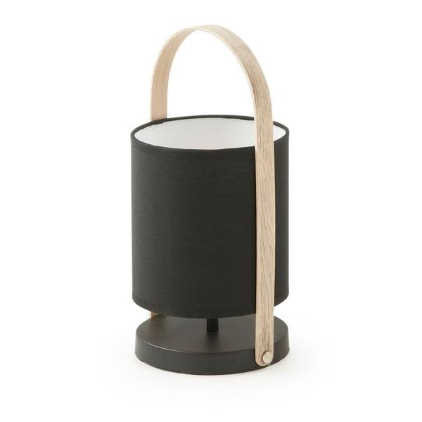 Czarna lampa stołowa La Forma Zayla