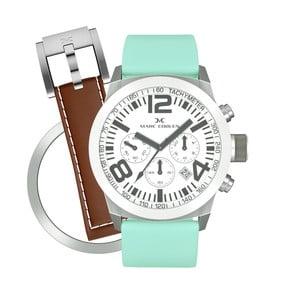 Zegarek damski Marc Coblen z dodatkowym paskiem i obręczą P76