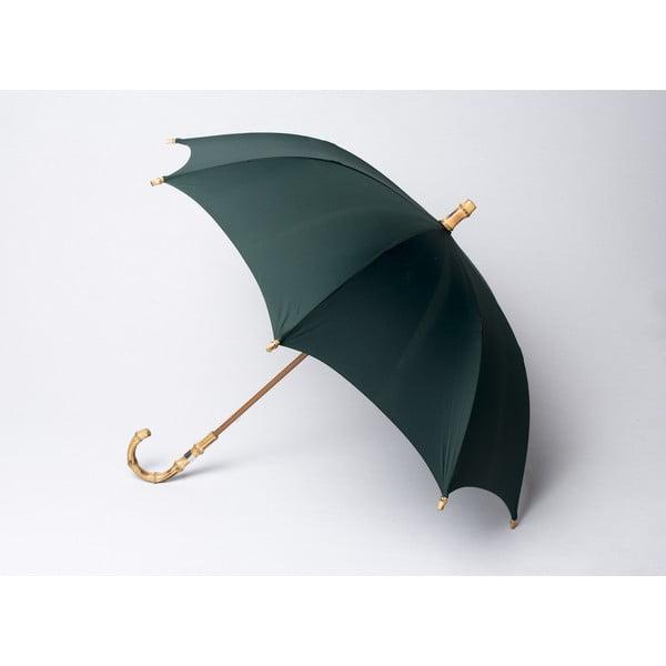 Bambusowy parasol Gents, zielony
