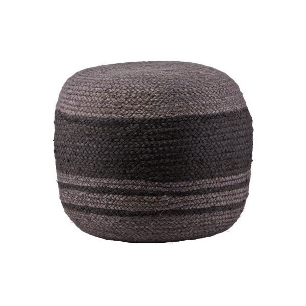 Puf Course Striped Grey