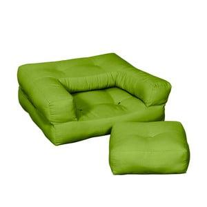 Fotel dziecięcy Karup Baby Cube Lime