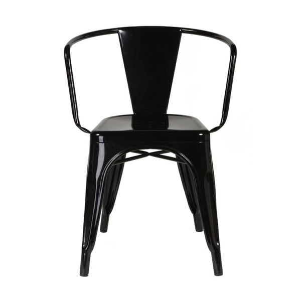Krzesło Vintage Industrial Black