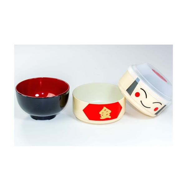 Dziecięce pudełko na drugie śniadanie Kokeshi Warrior, 440 ml