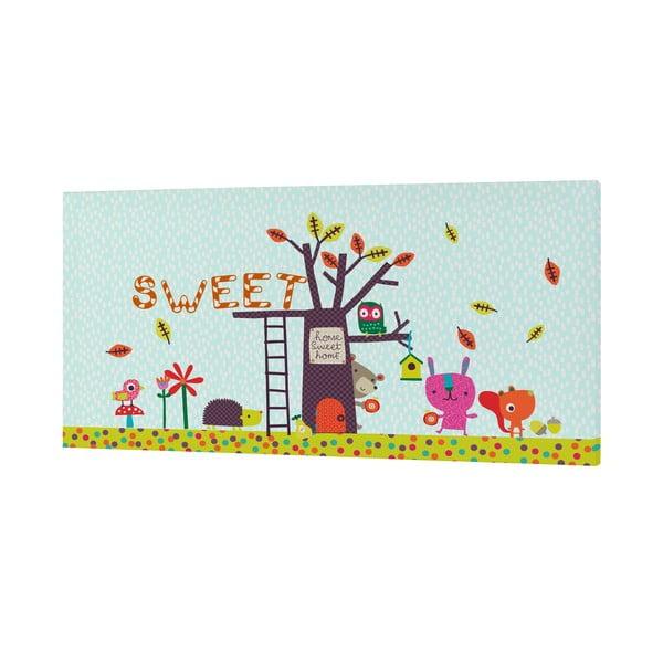 Obrazek Sweet Home, 27x54 cm