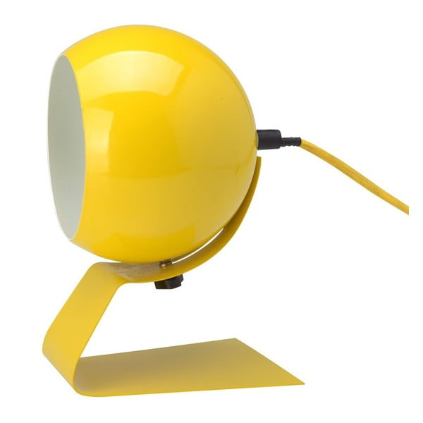 Żółta lampa stołowa Red Cartel Cameron