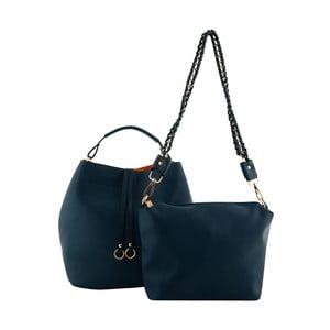 Niebieska   torebka skórzana Kris Ana Kris Ana Blue