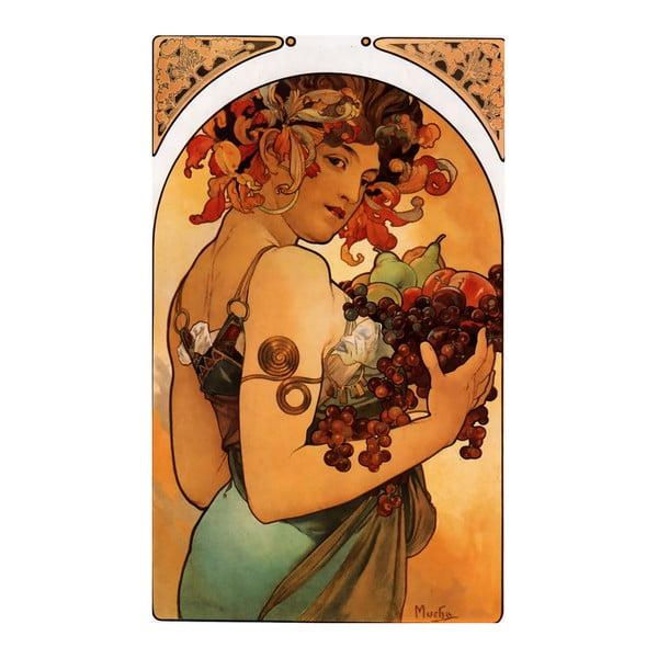"Obraz ""Fruit"" (Alfons Mucha), 40x60 cm"