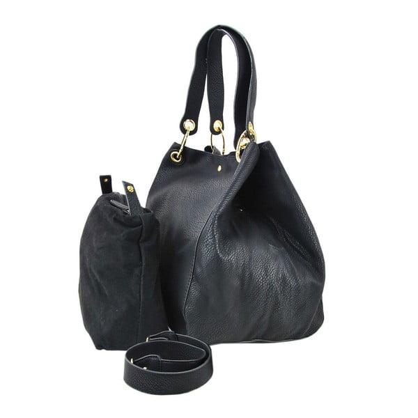 Skórzana torebka Siona Black