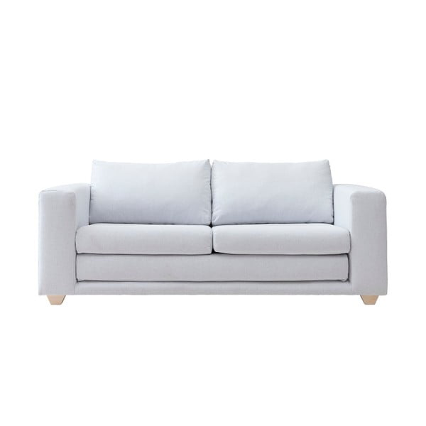 Szara sofa rozkładana Softline Victor