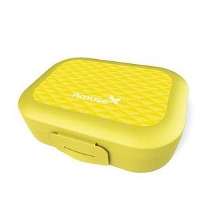 Pudełko śniadaniowe Amuse, żółte