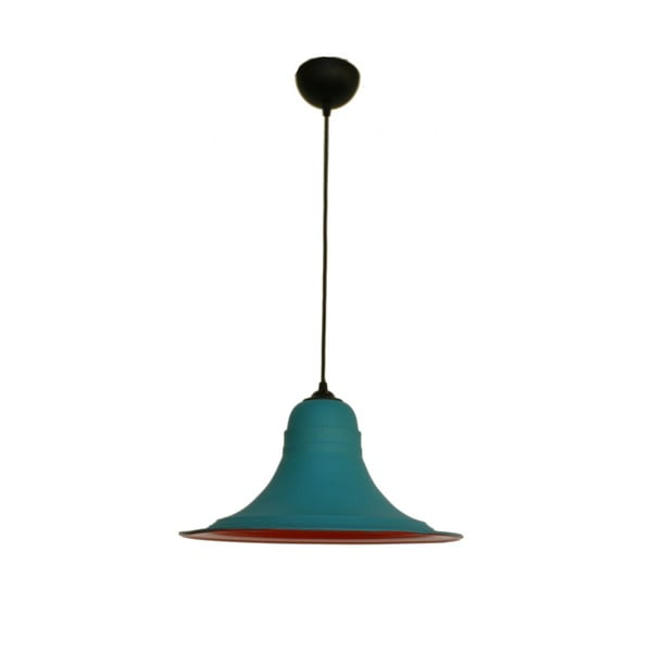 Czerwono-niebieska lampa wisząca Outside