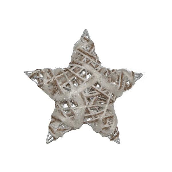 Zestaw 3 wiszących gwiazd Rattan