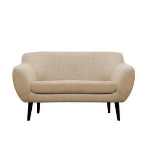 Beżowa sofa dwuosobowa Mazzini Sofas Toscane