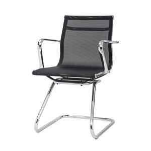 Krzesło biurowe Leila, czarne
