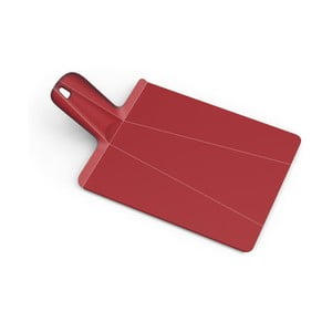 Czerwona składana deska do krojenia Joseph Joseph Chop2Pot Plus