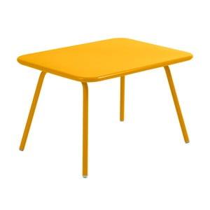 Żółty stół dziecięcy Fermob Luxembourg