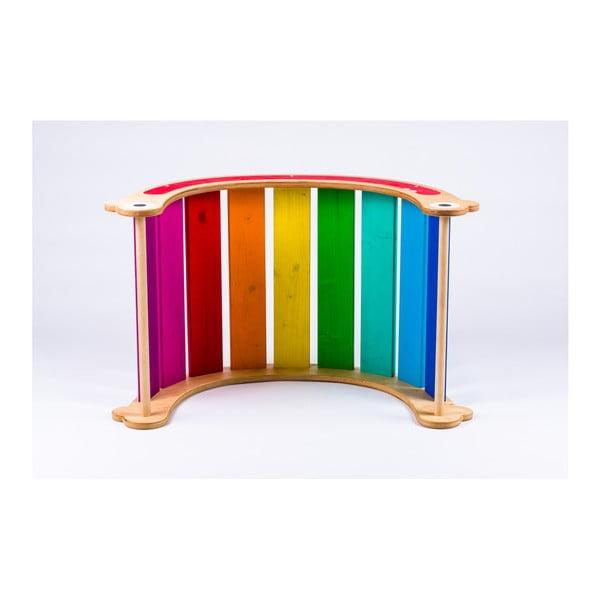 Wielofunkcyjna huśtawka Utukutu Spectra Tęcza