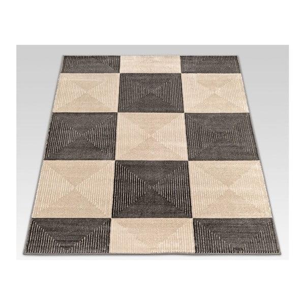 Dywan Reflex Brown Chess, 200x290 cm