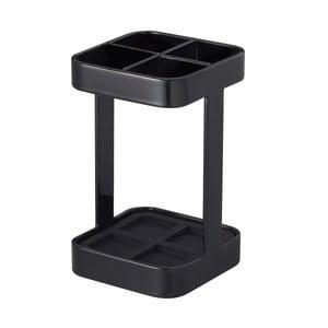 Czarny stojak na szczoteczki YAMAZAKI Tower Slim