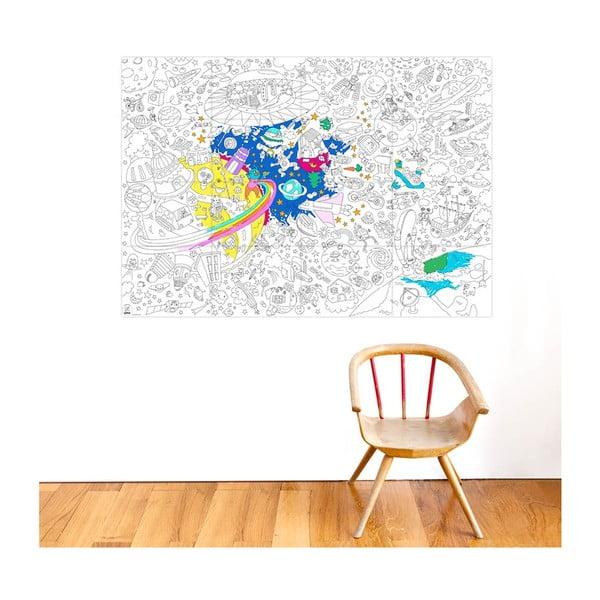 Kolorowanka OMY Cosmos (70x100 cm)