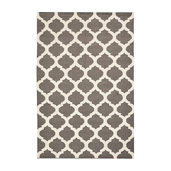 Ręcznie tkany dywan Julia Dark Grey, 155x240 cm