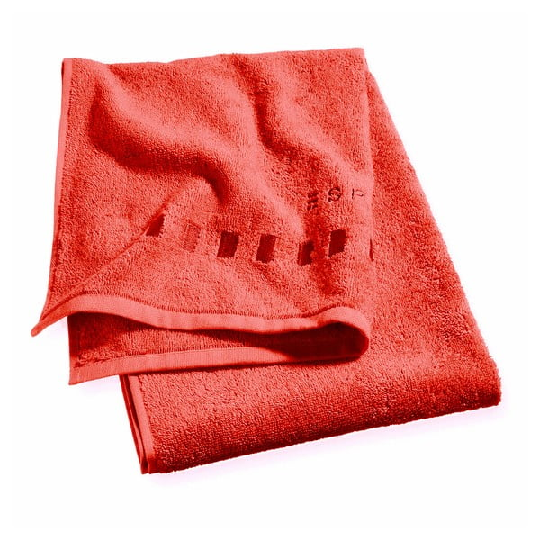Ręcznik Esprit Solid 50x100 cm, jasnoczerwony