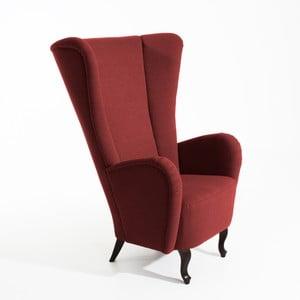 Czerwony fotel Max Winzer Aurora