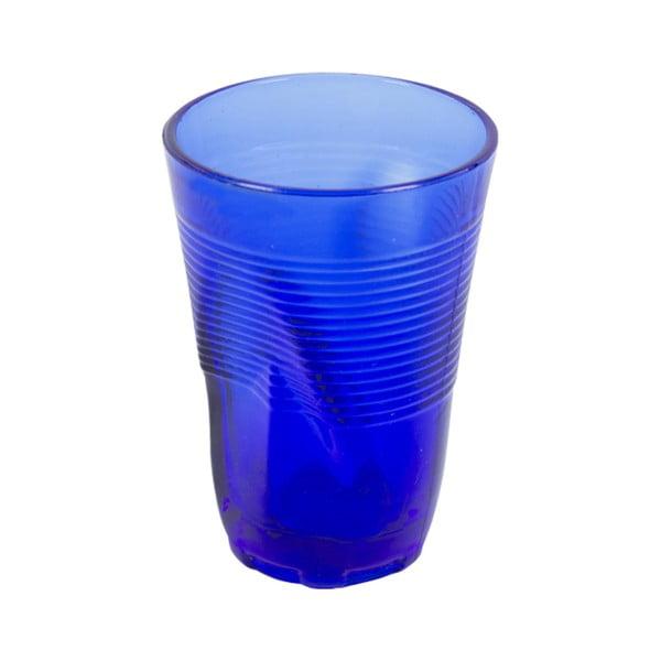 Zestaw 6 niebieskich szklanek Kaleidos, 340ml