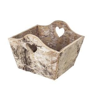 Drewniany koszyk Birch Heart