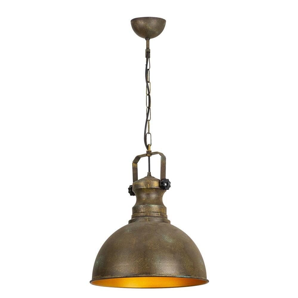 Metalowy lampa wisząca w antycznym złotym kolorze Opviq lights Orion