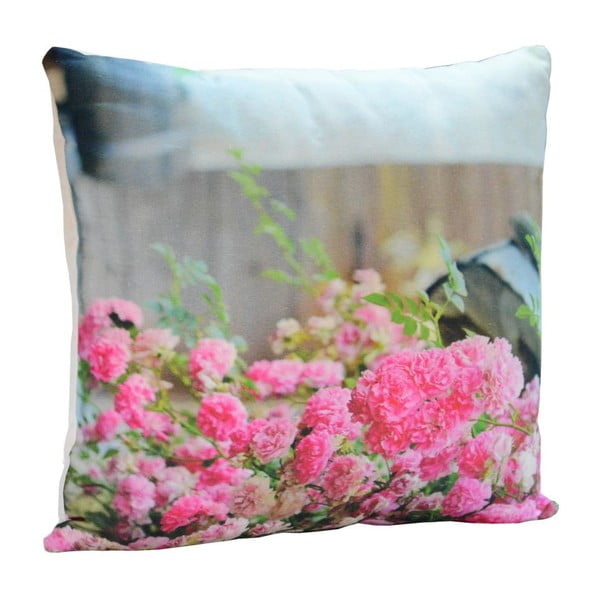Poduszka Pink Roses, 45x45 cm