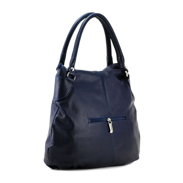 Skórzana torebka Blanca Blu