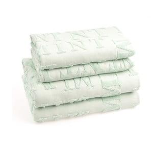 Komplet 4 ręczników bawełnianych Casa Di Bassi Mtypo