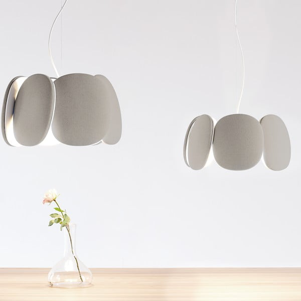 Lampa sufitowa Bloemi Beige, 45 cm