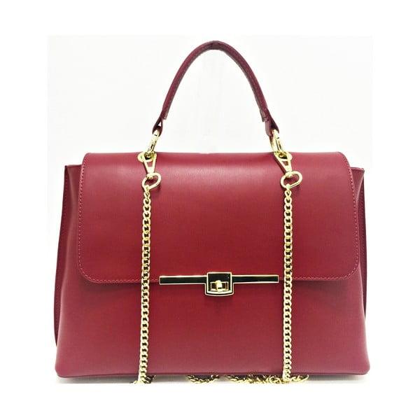 Skórzana torebka Lilu Red