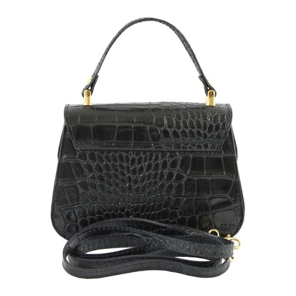 Czarna torebka skórzana Caroline