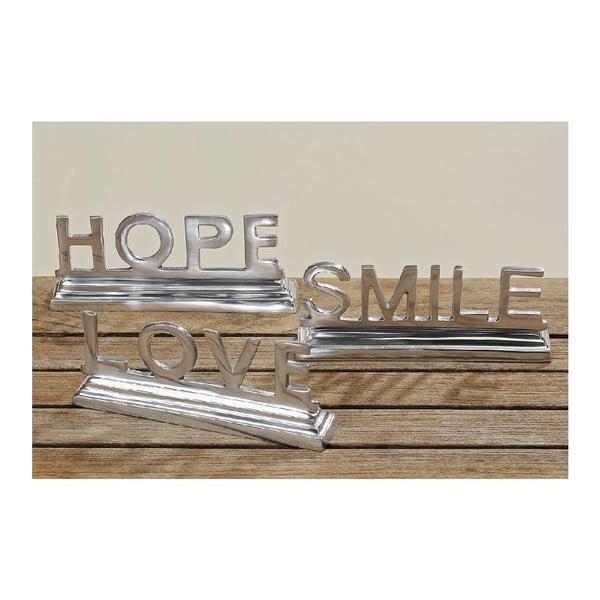 Dekoracja Hope Smile Love