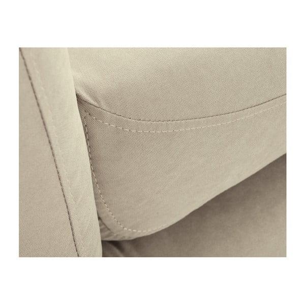 Beżowa sofa 3-osobowa Scandi by Stella Cadente Maison Comete