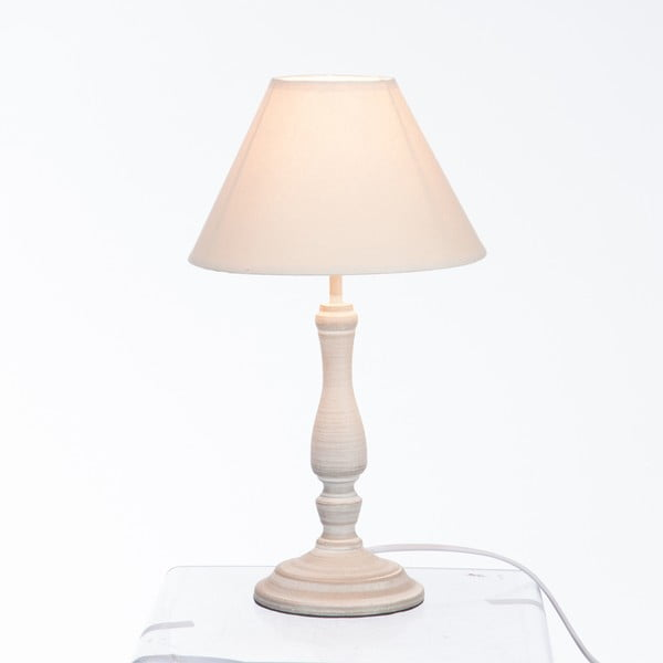 Lampa stołowa Classic Lamp Grey and Beige
