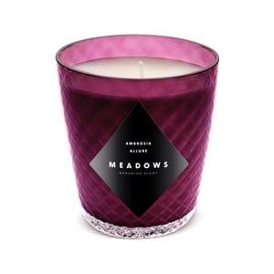 Świeczka o zapachu porzeczki, winogrona i liści mandarynki